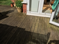 Decking to pretreat