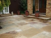Natural stone specialist pressure cleaning