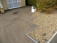 Pressure wash tarmac before SmartSeal application restorer